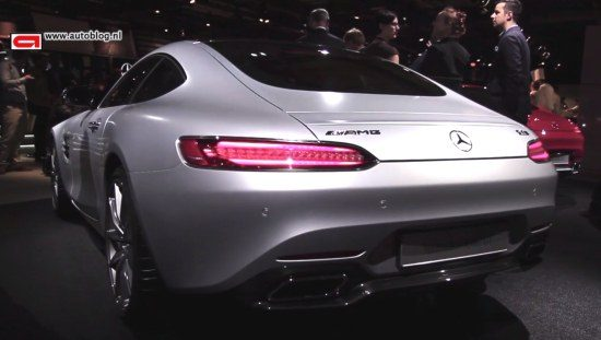 Mercedes AMG GT video