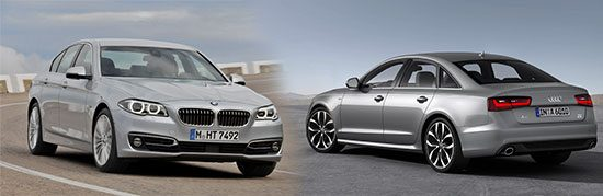 BMW 520d vs Audi A6 Ultra