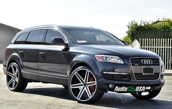 Audi Q7 op 26 inchers