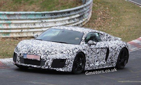 Hier rijdt de nieuwe Audi R8