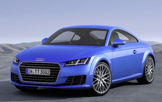 Audi TT - derde generatie