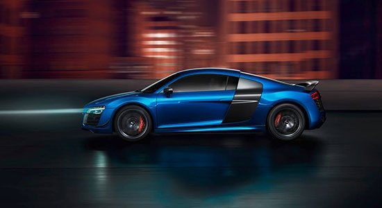 Audi R8 LMX met laserlights