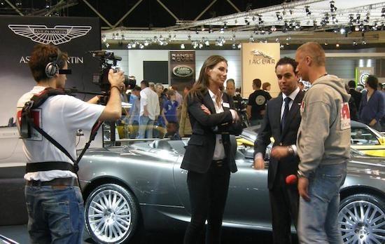 Wouter in zijn capuchonfase - AutoRAI 2011