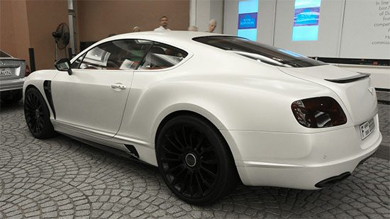 Bentley Continental GT Mansory in Dubai