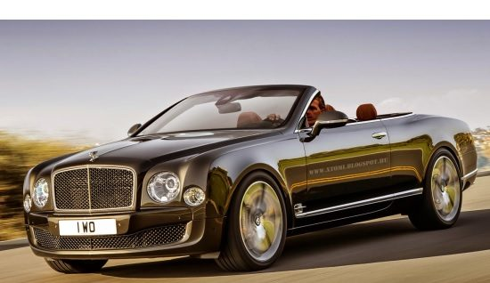 Bentley Mulsanne Speed Cabrio rendering