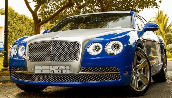 Bentley Continental Flying Spur Two-tone