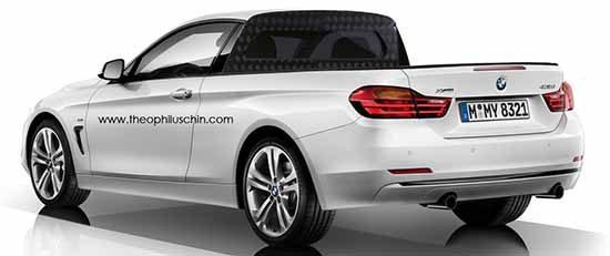 BMW 4 Serie Pickup