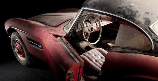 BMW gaat de 507 van Elvis Presley restaureren