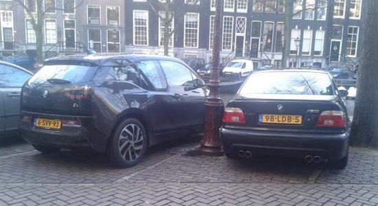 BMW i3 vs E39 M5