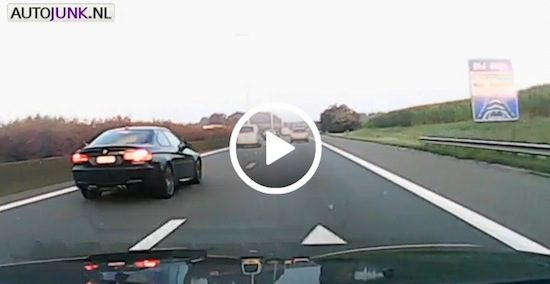 Video: M3 wegpiraat strikes again