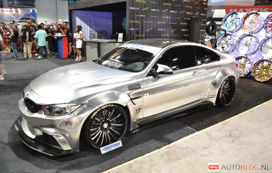 BMW M4 door LB Performance