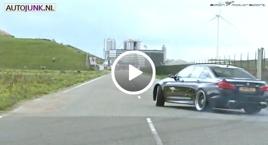 Video: Simon MotorSports BMW M5 bij The Challenge