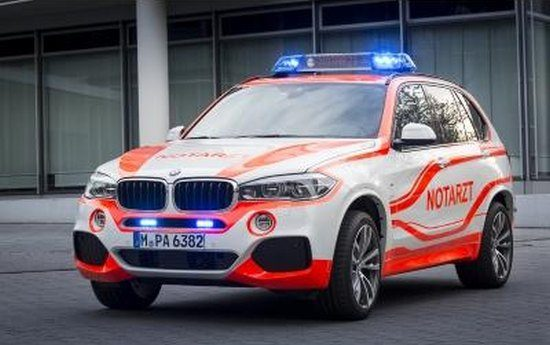 BMW X5 ambulance