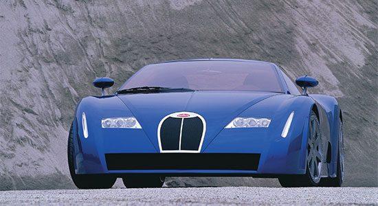 Bugatti Chiron 18/3 Concept uit 1999