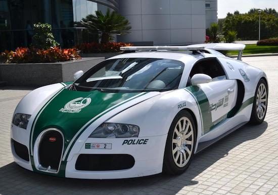 Politie Dubai heeft nu écht een Bugatti Veyron
