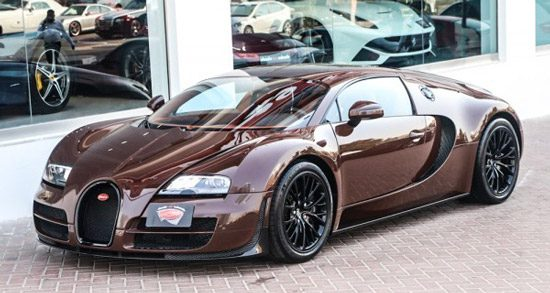 bruine bugatti veyron super sport al na 800 km gedumpt. Black Bedroom Furniture Sets. Home Design Ideas