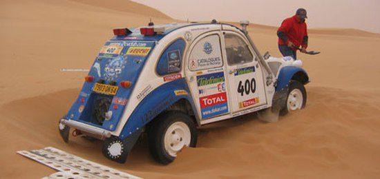 Citroen 2CV Dakar