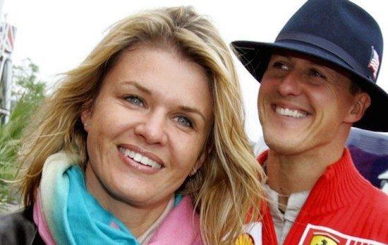 Corinna Schumacher bedankt fans voor steun aan Michael
