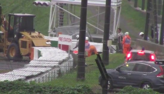 Heftige video van crash Jules Bianchi gaat rond