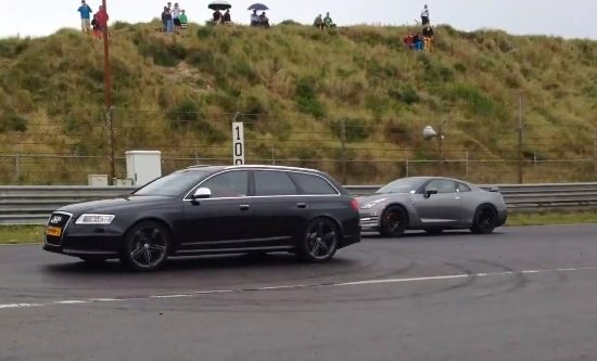 RS6 vs GT-R