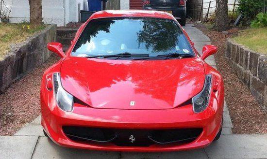 Ferrari 458 replica