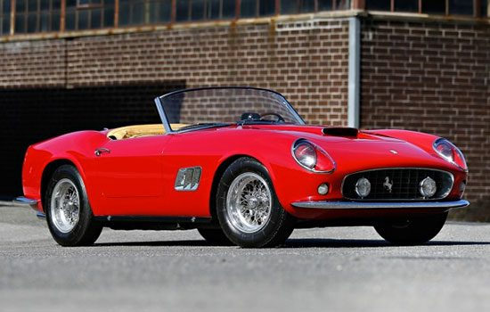 De Ferrari 250 GT SWB California Spider