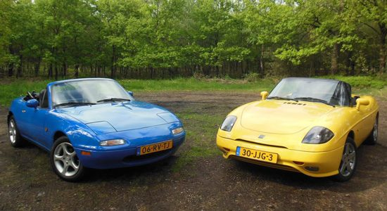 Mazda MX-5 vs Fiat Barchetta