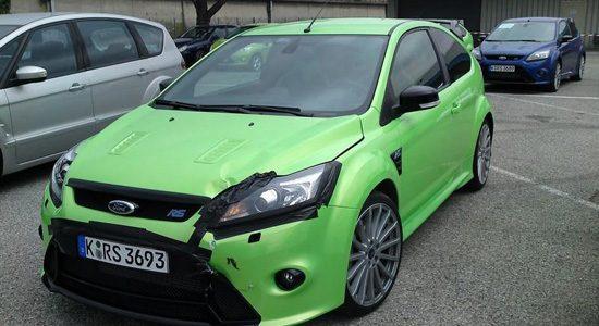 Ford Focus RS met schade