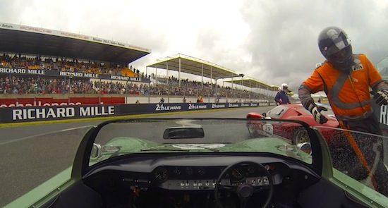 Ford GT40 Roadster gaat een half uurtje los op Le Mans