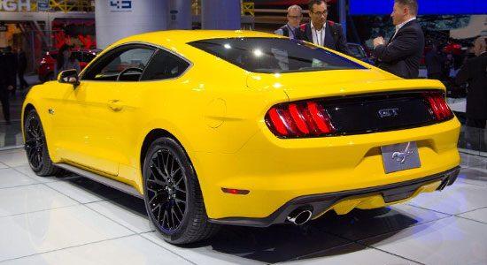 Ford Mustang is geil geel