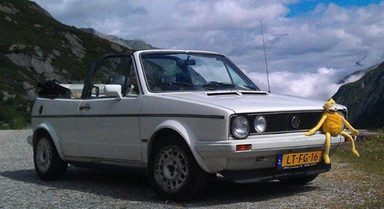 Volkswagen Golf 1 cabrio