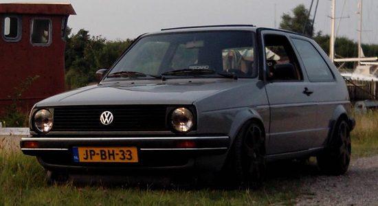 Volkswagen Golf 2 met VR6