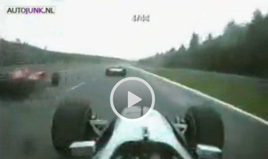 Hakkinen en Schumacher