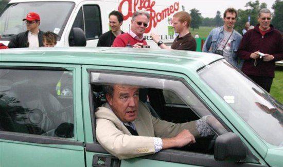 Koop Jeremy Clarkson's ex-Alfa V6 voor 2000 pond