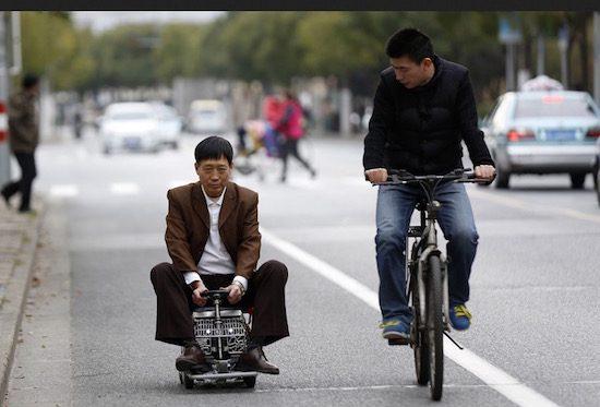 Maak kennis met de kleinste auto ter wereld