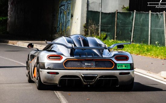Koenigsegg One:1 bij de Ring