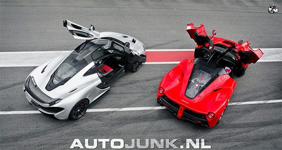 McLaren P1 vs LaFerrari