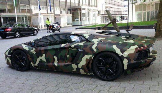 Lamborghini Camouflador