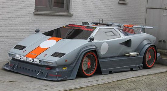 Lamborghini Countach replica te koop