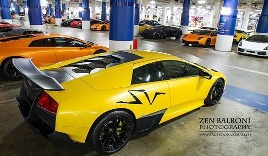 Lamborghini Singapore geeft een feestje