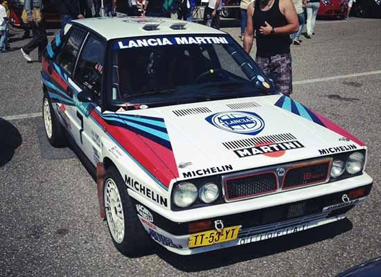 Lancia Delta HF Integrale Martini Rally