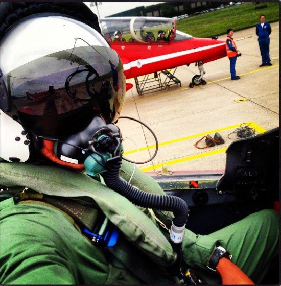 Lewis Hamilton straaljager