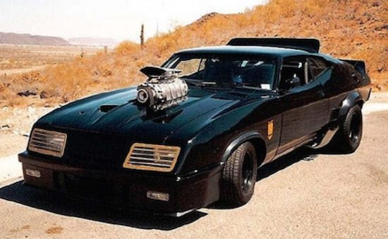 V8 Interceptor uit Mad Max I en II