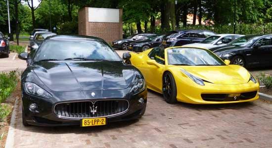 Maserati vs Ferrari