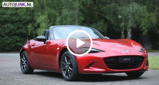 Video: Nieuwe Mazda MX-5 (ND)