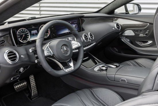 Mercedes S63 Coupe interieur