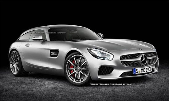 Mercedes AMG GT Shooting Brake