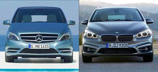 kies maar mercedes b klasse vs bmw 2 serie active tourer. Black Bedroom Furniture Sets. Home Design Ideas
