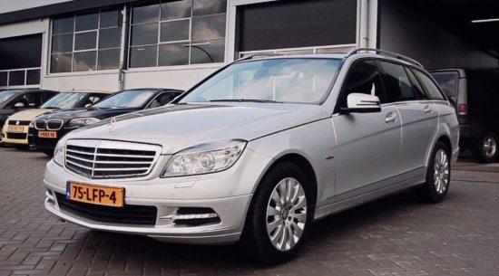 Mercedes Benz C-klasse (W204)