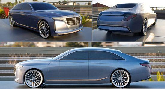 Concept van de Mercedes U-Klasse